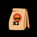 זוג המבורגרים