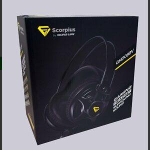 אוזניות גימינג scorpius למחשב פלייסטיישן xbox 119₪