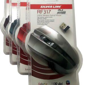 עכבר אלחוטי silver line 35₪